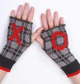 Green 3 Apparel XO handwarmers (GREY)