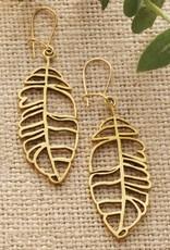 SERRV Banana Leaf Earrings