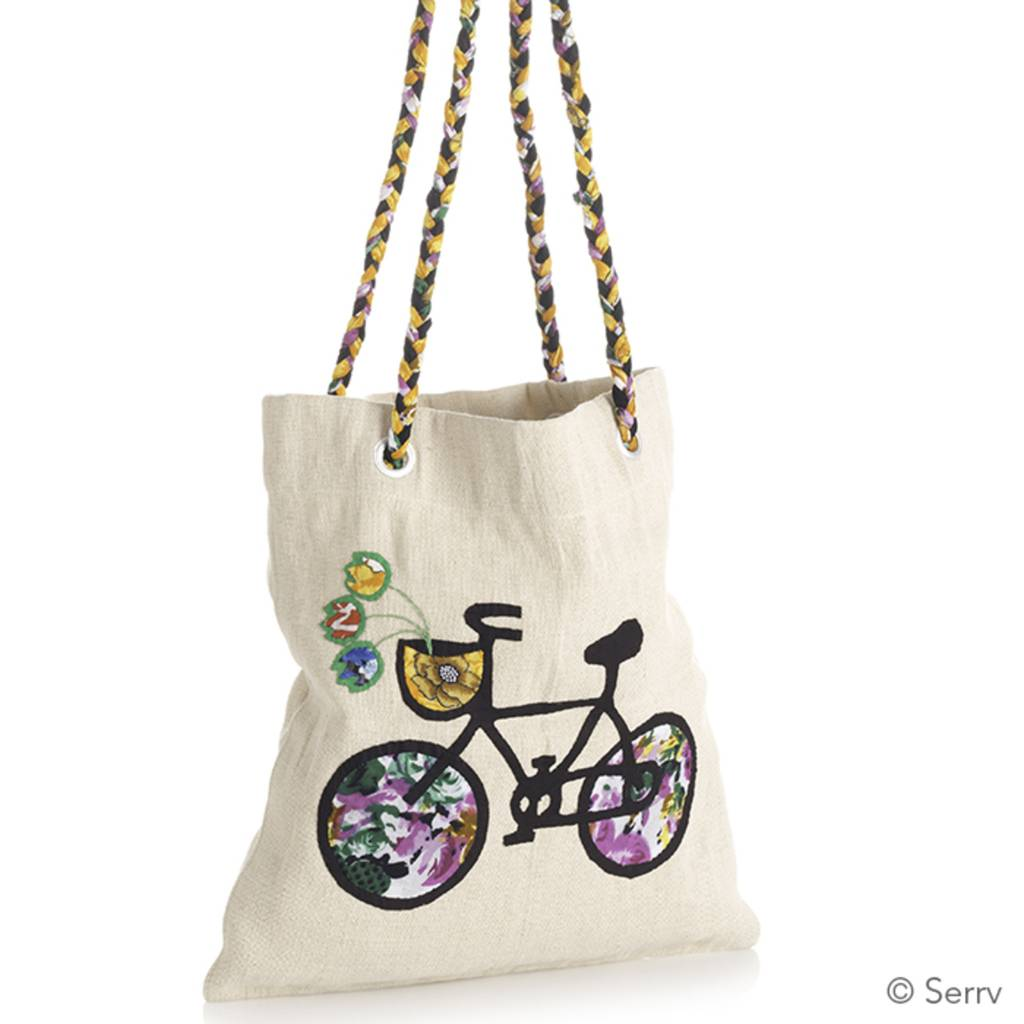 SERRV Bountiful Bicycle Tote