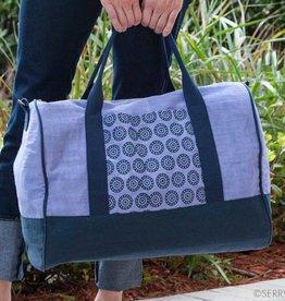 SERRV Lilac Weekender Bag