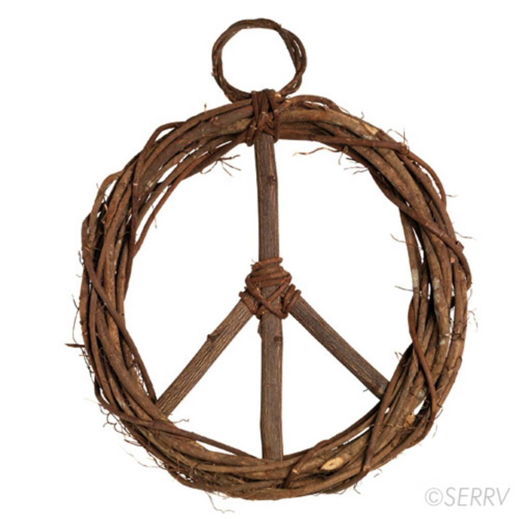 SERRV Peace Wreath