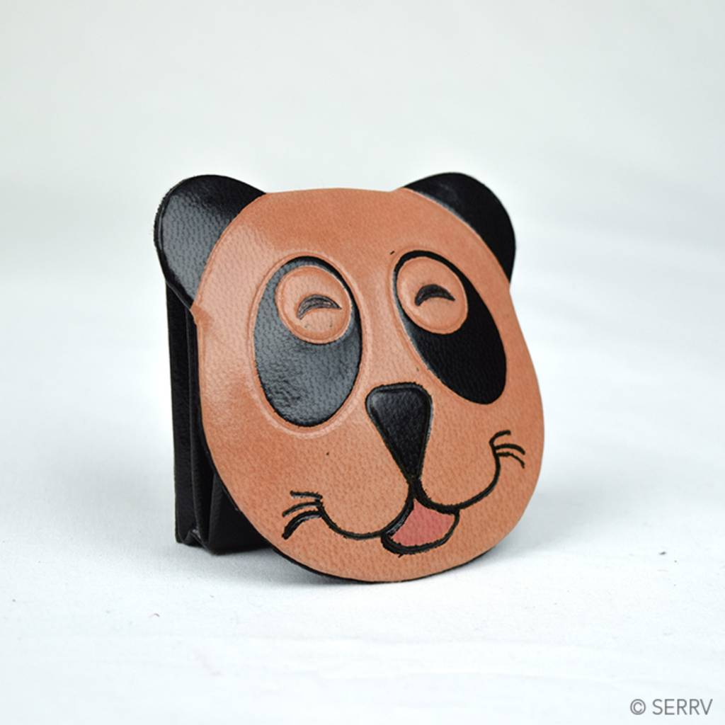SERRV Smiling Panda Coin Purse