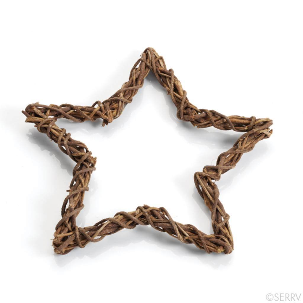 SERRV Star Wreath