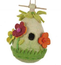dZi Friendly Flower Birdhouse