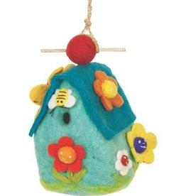 dZi Flower house birdhouse