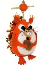 dZi Nutty squirrel birdhouse