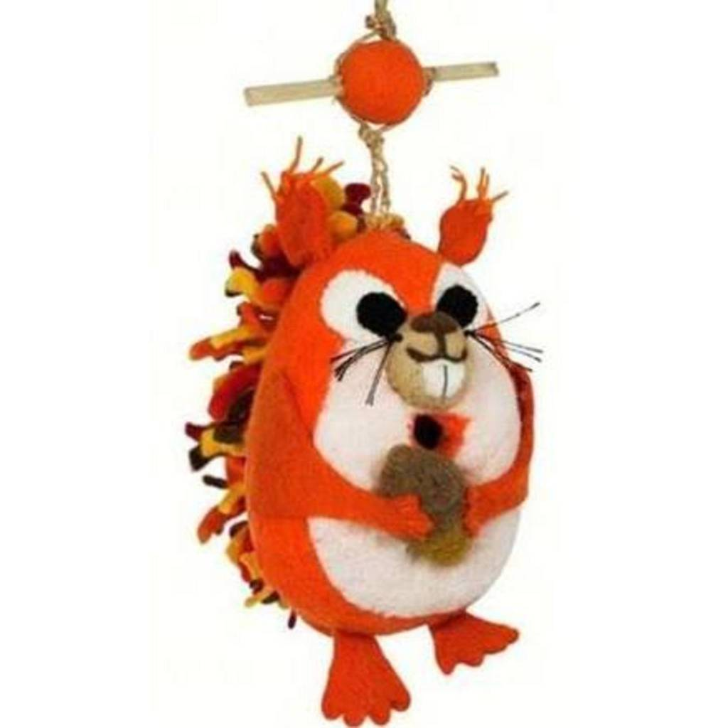 dZi Nutty squirrel birdhouse
