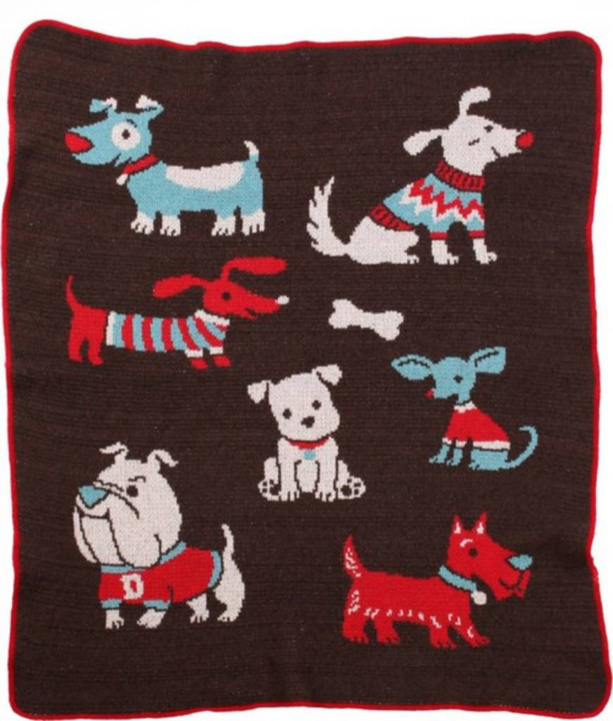 Green 3 Apparel Multiple Dog Jr. Throw