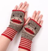 Green 3 Apparel Sock Monkey Handwarmers