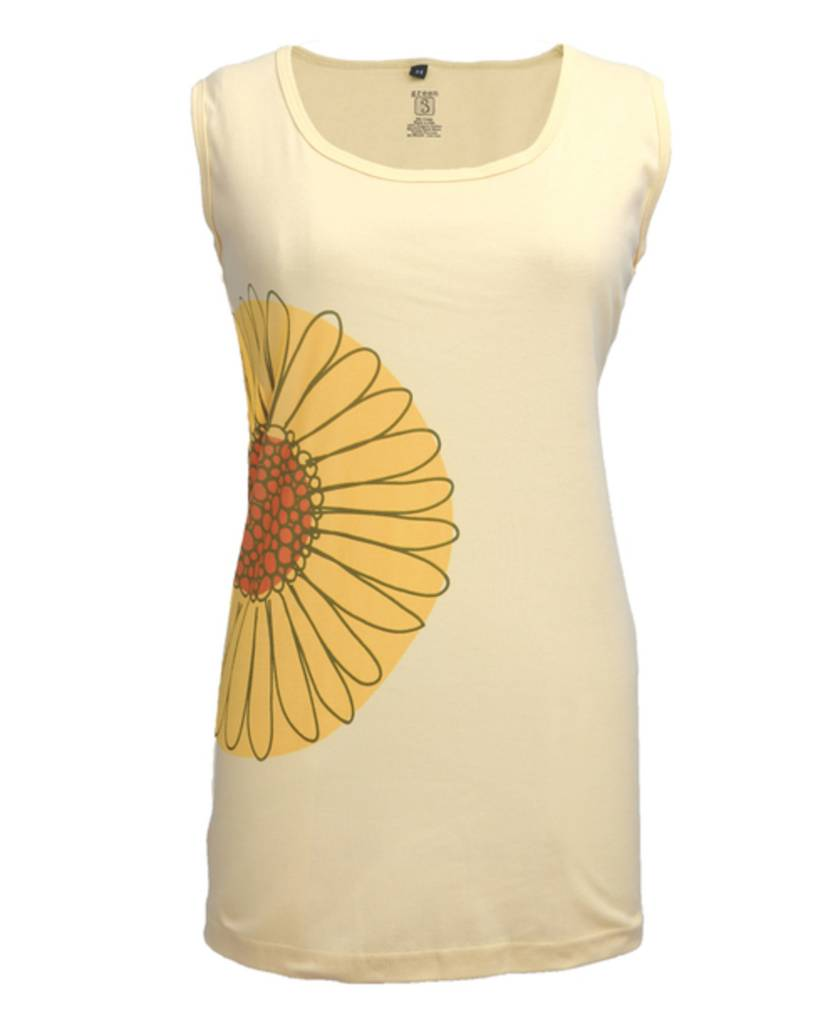Green 3 Apparel Daisy to the Side Tank