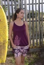 Jayli Elephant Print Shorts
