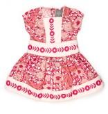 Kate Quinn Organics Puff Sleeve Piped Square Dress