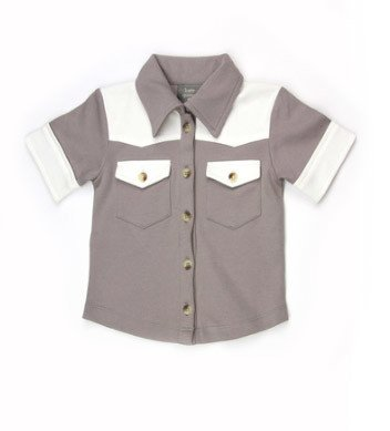 Kate Quinn Organics SS Cowboy Shirt