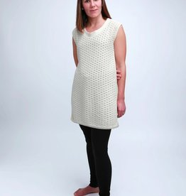 Green 3 Apparel Natural Cotton Sleeveless Tunic
