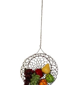 Mira Fair Trade LG Wire Hanging Basket