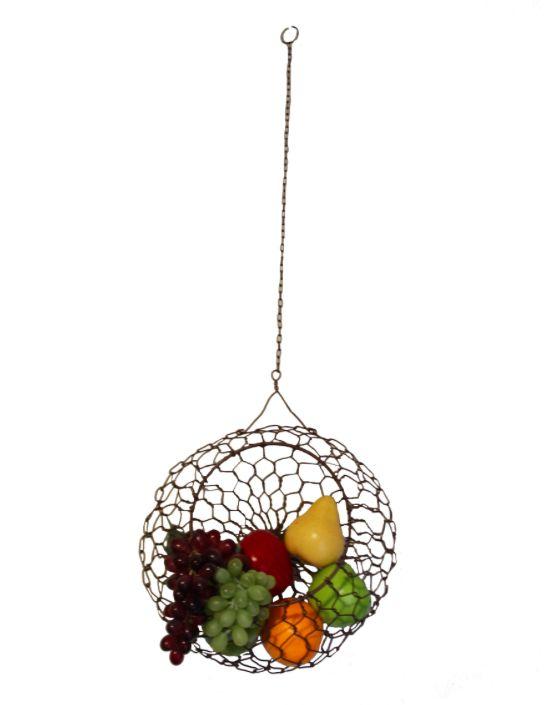Mira Fair Trade LG Wire Hanging Basket