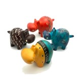 Global Crafts Soapstone Hippo 10 cm