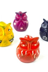 Global Crafts Mini Soapstone Owl