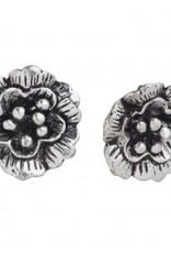 Ten Thousand Villages Single flower stud earrings