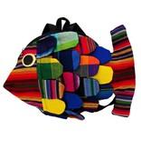 Unique Batik Kids Mini Stuffed Fish Backpack
