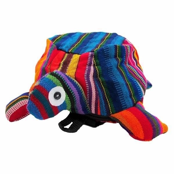 Unique Batik Kids Mini Stuffed Turtle Backpack