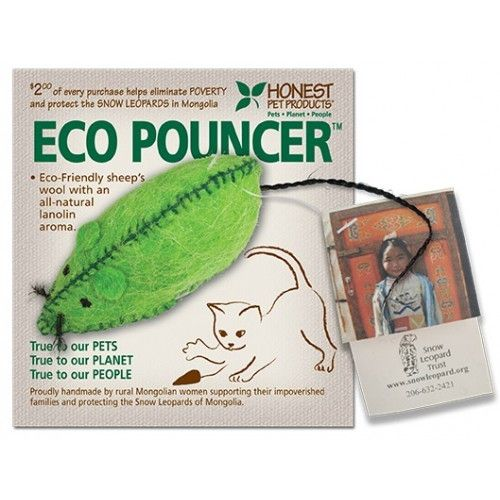 "Honest Pets Eco Pouncer 4-5"" Body"
