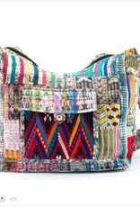 Lucia's Recycled Patch Huipile Purse