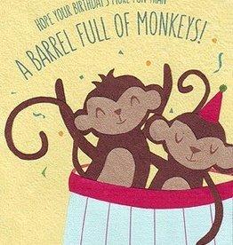 Good Paper Barrel of Monkeys