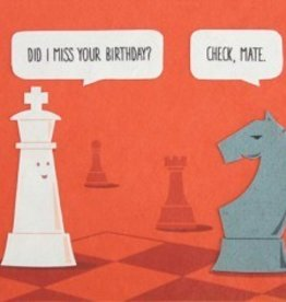 Good Paper Checkmate birthday