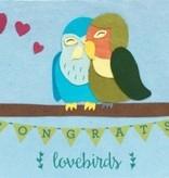 Good Paper Congrats Love Birds