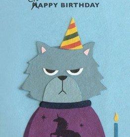 Good Paper Grumpy Kitty Birthday