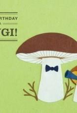 Good Paper Happy Birthday Fungi