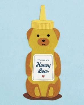 Good Paper Honey Bear