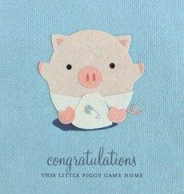 Good Paper Little Piggy Congrats