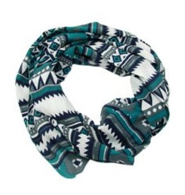 WorldFinds Tribal Geo Print Scarf