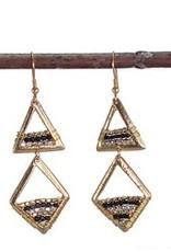 WorldFinds Geo Prism Earrings