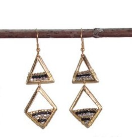 WorldFinds Geo Prism Earrings