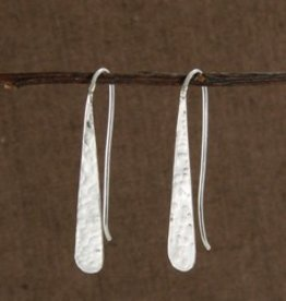 WorldFinds Dimpled Drop Earrings