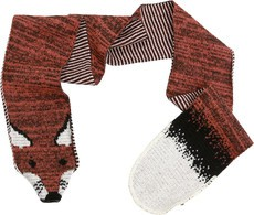 Green 3 Apparel Fox Scarf