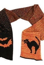 Green 3 Apparel Halloween Cat Scarf