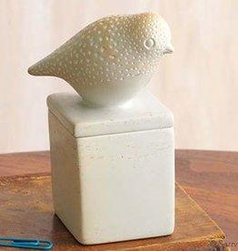 SERRV White Stone Bird Box