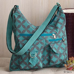 SERRV Retro Floral Bag