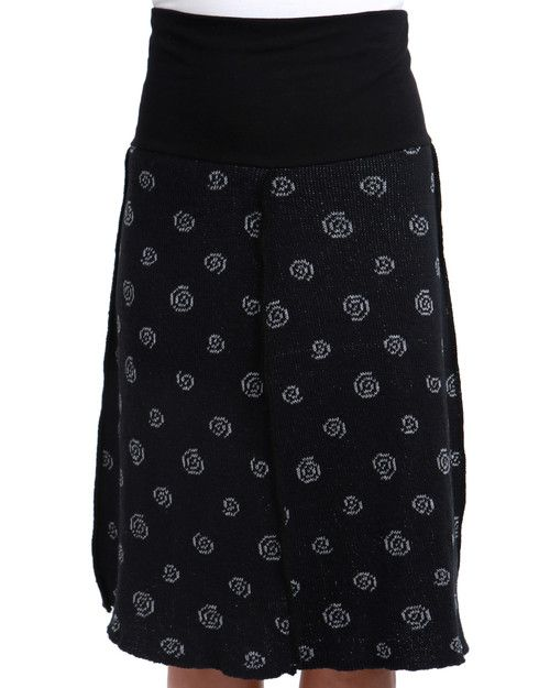 Green 3 Apparel Swirl 4-panel Skirt