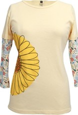 Green 3 Apparel Daisy 3/4 Sleeve Tee