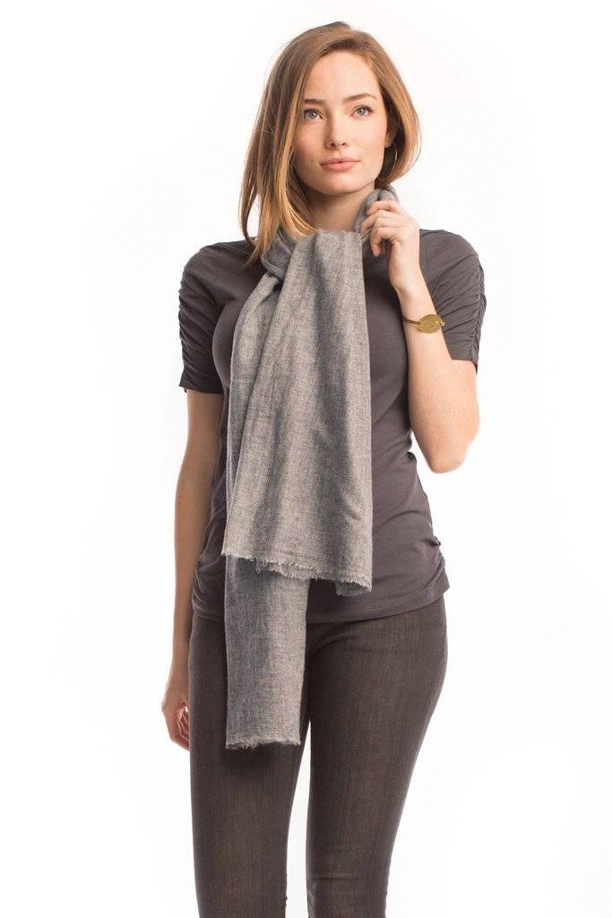 Synergy Solid Pashmina Scarf