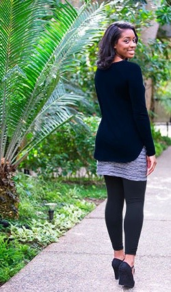 Maggies Organics Tulip Skirt Leggings