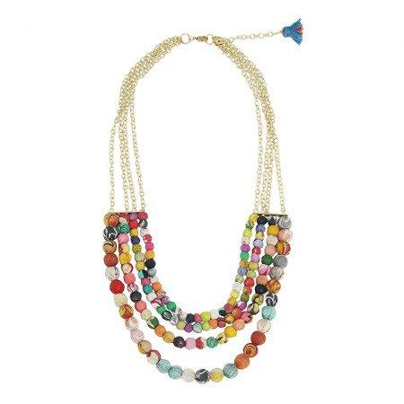 WorldFinds Kantha 4-tier Necklace