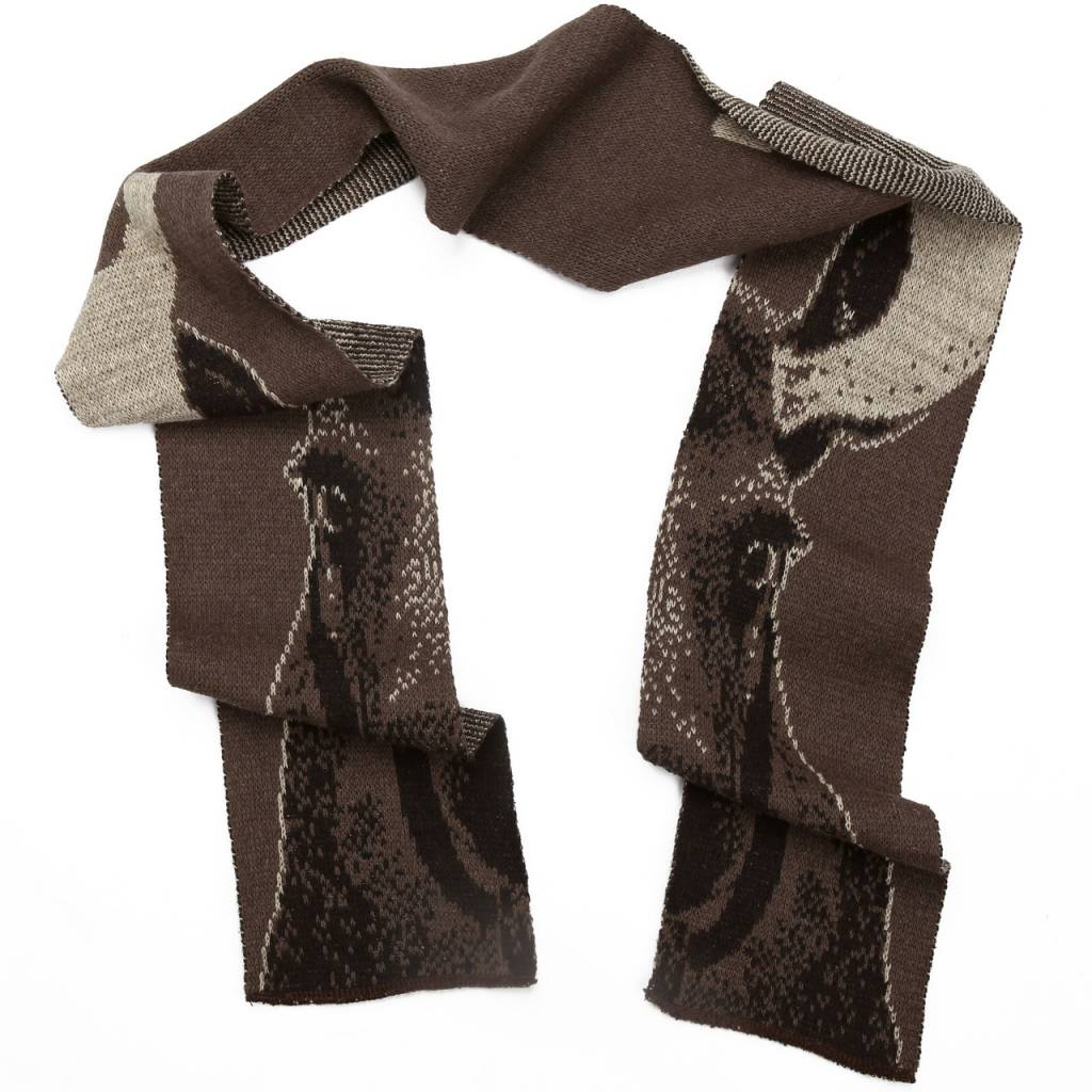 Green 3 Apparel Moose Scarf