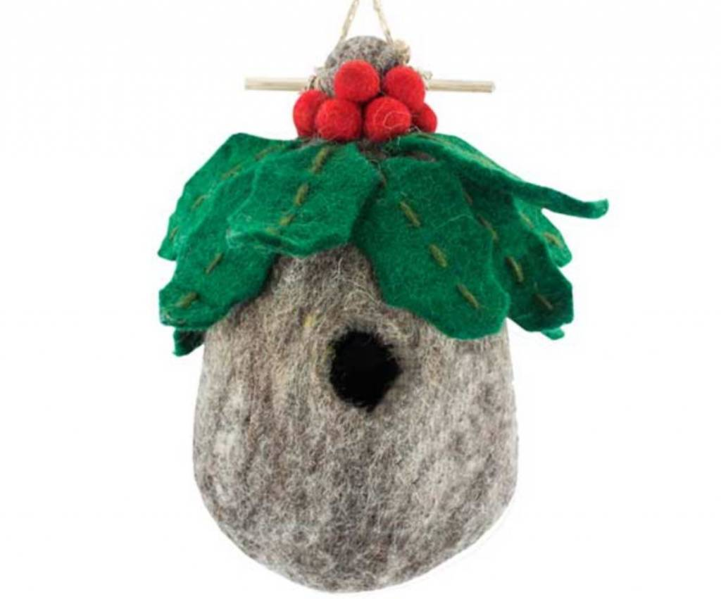 dZi Holly birdhouse