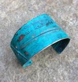 Ezra and India Copper 2 Fold Cuff